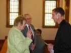Pastor Kophamer chats with Wes & Jean Skilton